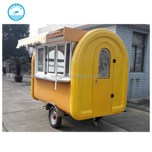 trailer for panama food/Alibaba China food cart business franchise/China supplier jual food truck food machine