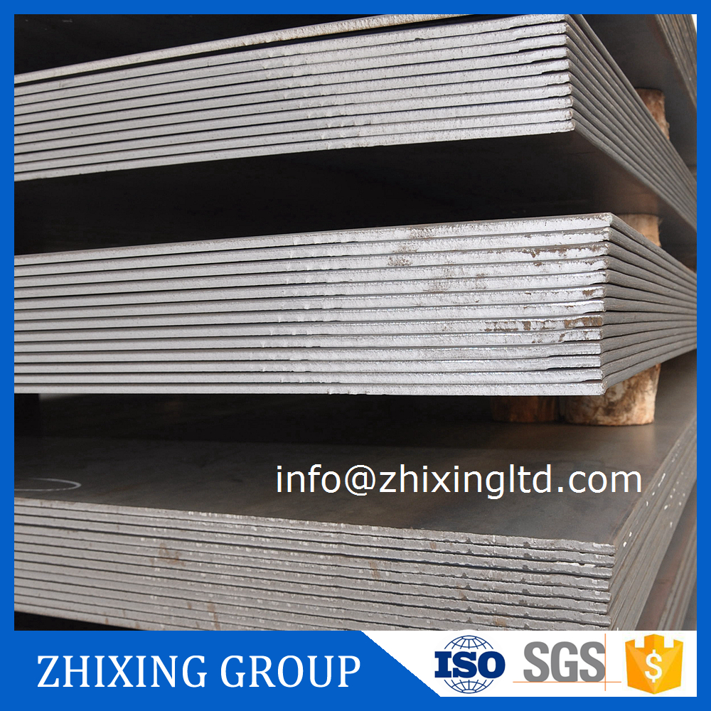 Hot rolled steel round post base plate for construction