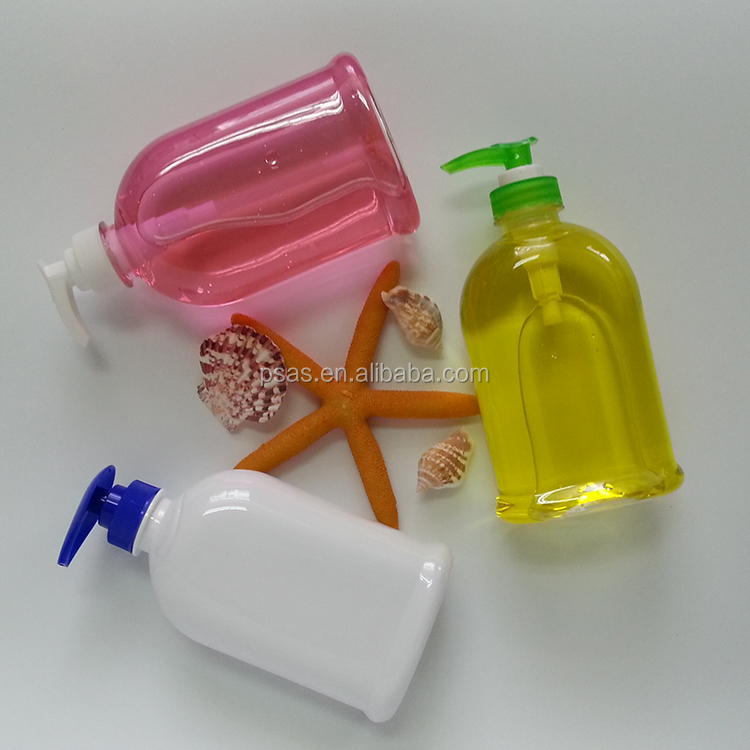 Best price 350ml PET plastic hand soap bottle washing liquid bottle container with pump dispenser