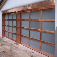 Selling aluminum glass garage doors uk