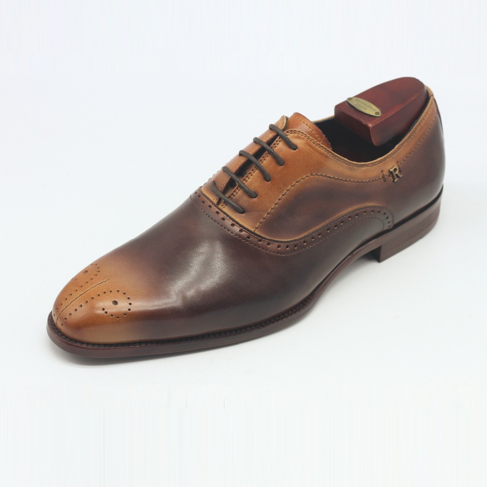 Uncompromising quality breathable italian genuine leather men shoes with premium handcraftmansip