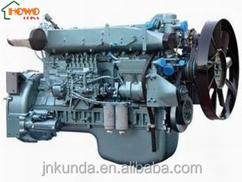 New Condition Sinotruk Howo 371 Hp Engine For Howo Dump Truck ...