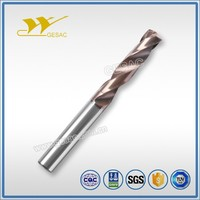 5D Internal Coolant Solid Twist Drill Bit Carbide for Stainless Steel Machining