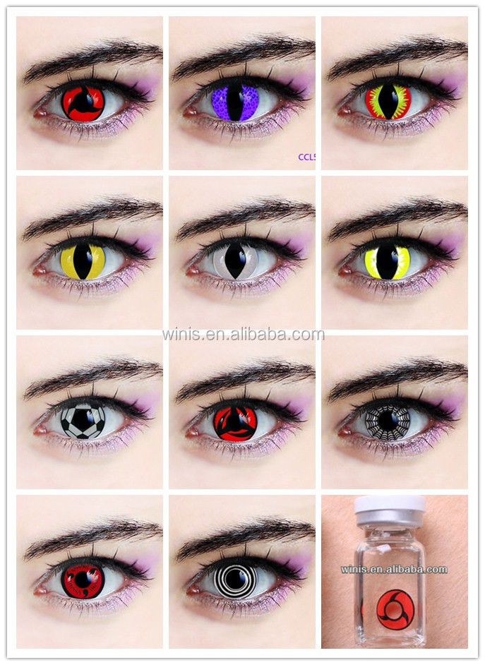 Crazy Halloween Contacts crazy contacts Halloween Various Design Crazy Vampire Cat Eye Contact Lenses