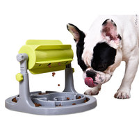 Smart Automatic Pet Feeder Plastic Dog Bowl Slow Feed,ABS Safe Slow Feeder Healthy Diet IQ Training Toy