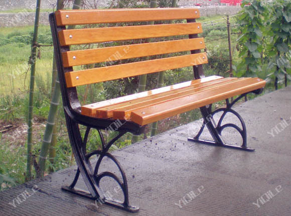 Surprise! Cast Iron And Wood Garden Bench Popular Sale