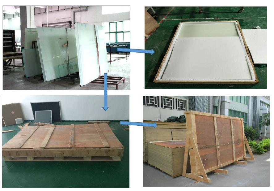 8mm office partition  room tempered glass factory in Asia