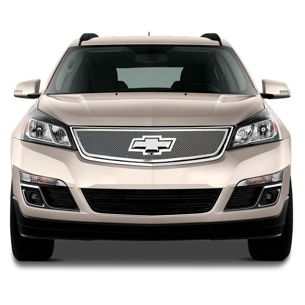 Premium FX Top Mesh Grille for 2014-2015 Chevy Traverse