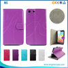 Hot selling flip cover case for sony m5, leather phone case for sony xperia m5