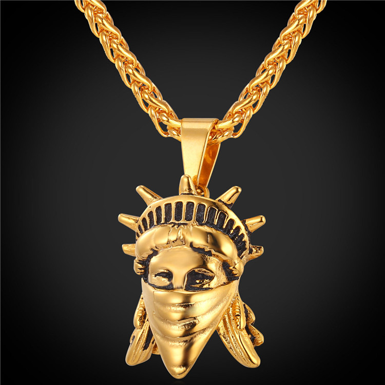 U7 new york hip hop chains golden bling pendants men women charms u7 new york hip hop chains golden bling pendants men women charms american rebel necklace statue of liberty jewelry buy statue of liberty jewelry necklace aloadofball Choice Image