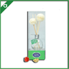 New design handmade sola flower glass fragrance reed diffuser for freshing air