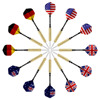 Wholesale 2 Pcs Tip Darts with Plastic Flag Flights (4 Styles) - Stainless Steel Needle Tip Dart With 3 Free PVC Dart Rods