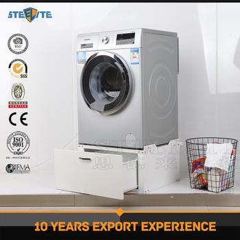 Waterproof Metal Storage Cabinet Washing Machine Base Cabinets In Laundry Room
