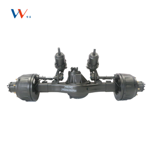 Single rear drive casting axle housing