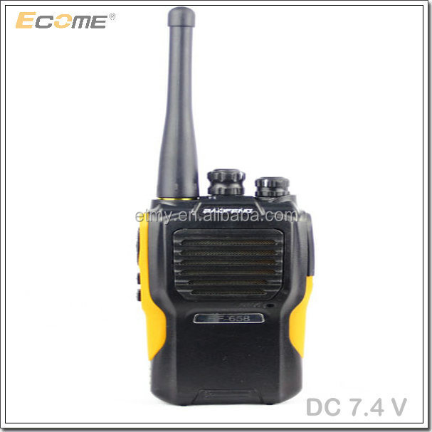 Chinese for police use Wholesale baofeng two way radio BF-658 5W woki toki fashion black color