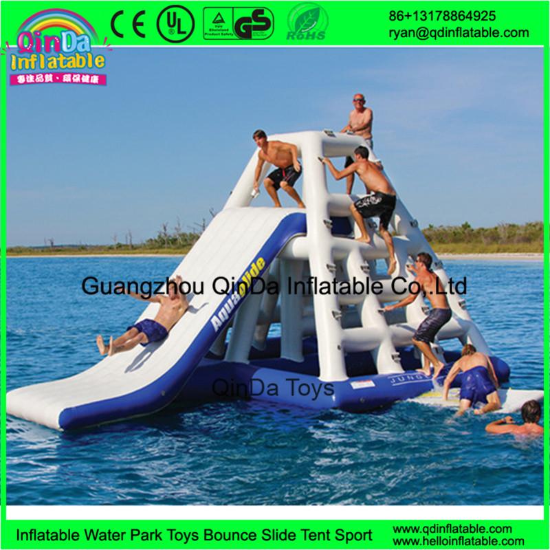 Inflatable Pool Toys Giant Seaside Lake Water Slides Used