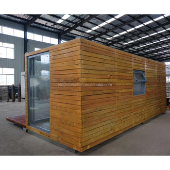 prefab kit set houses Wooden Log Material Good looking nature design strong materials assembled wooden house
