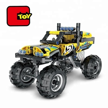 Educational Toy Tech Bricks 199 Pcs Off Road Toy Car Assembly Kit