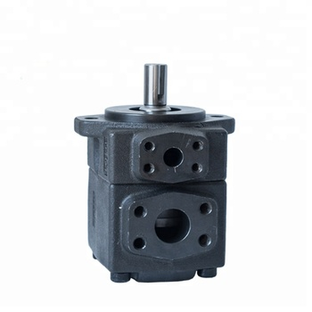 Low Noise Yuken Pv2R Hydraulic Vane Pump, Hydraulic Vane Double Pump For Excavator And Injection Moulding Machine Credit Seller