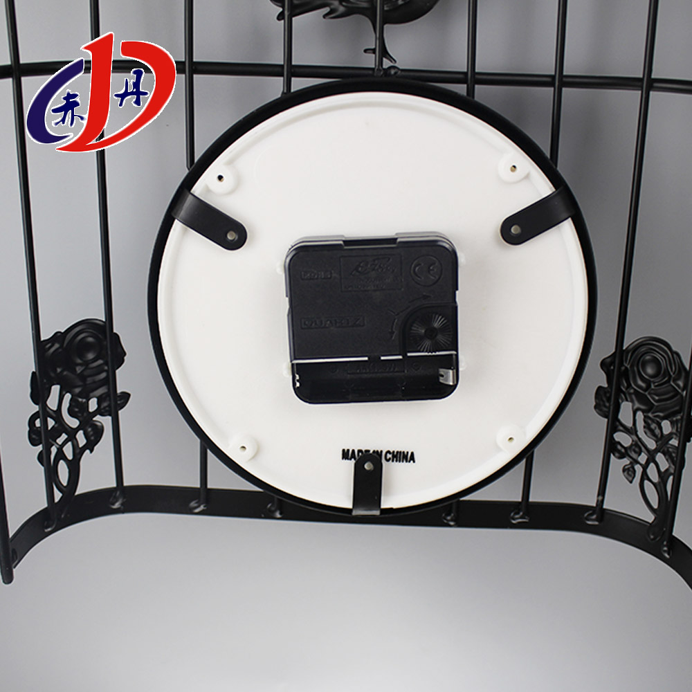 DH-C004 birdcage shape iron art decorative clock