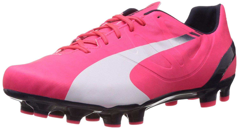 Get Quotations · Puma soccer shoes evoSPEED 4.3 FG 103018 04 Football Men  pink d46ffdb85d8