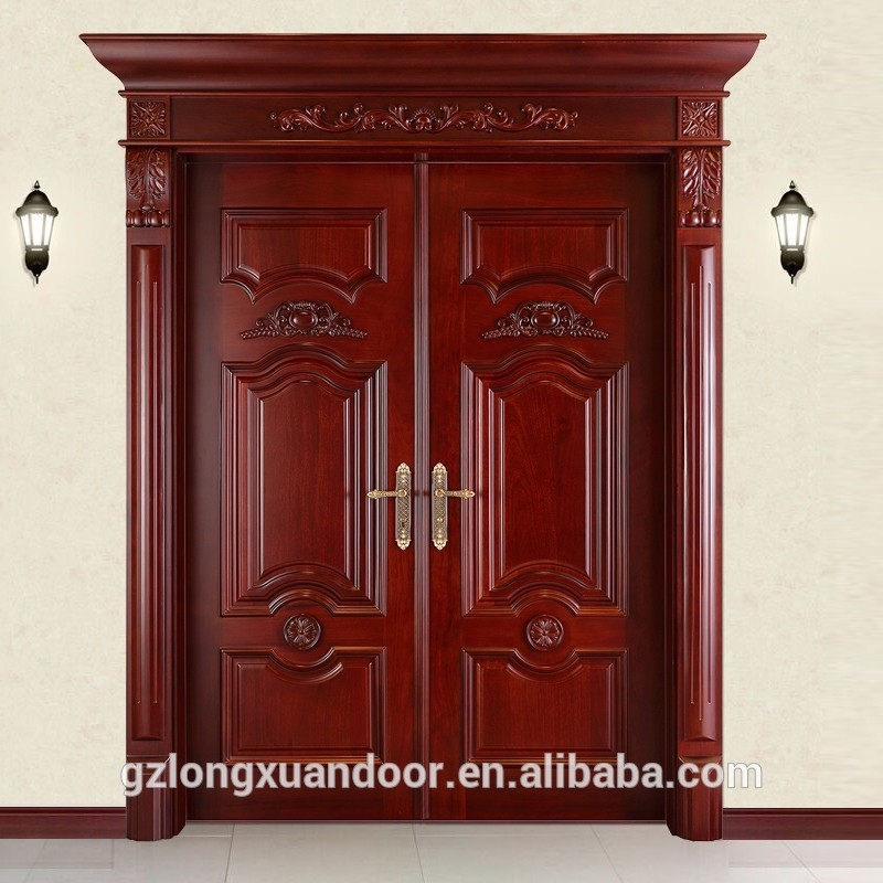 Surface Finished Double Front Door Wooden Panel Designs For Entry Wood Carvings Main Door Frames Buy Double Front Door Designs For Entrydouble Door