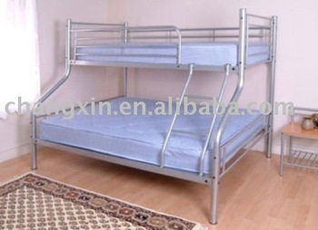 High Quality Heavy Duty Drie Personen Metalen Stapelbed Photo
