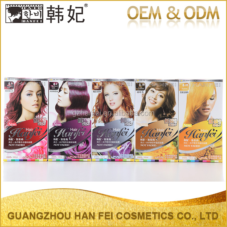 10 choice easy to use fixing color hair coloring cream daily use hair color