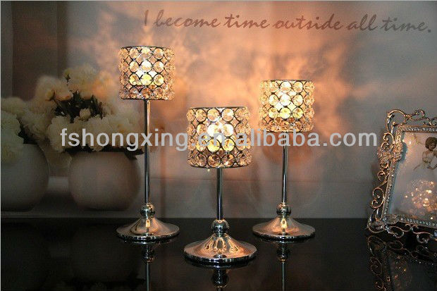 sliver small center pieces for home weeding and chrismas day decoration