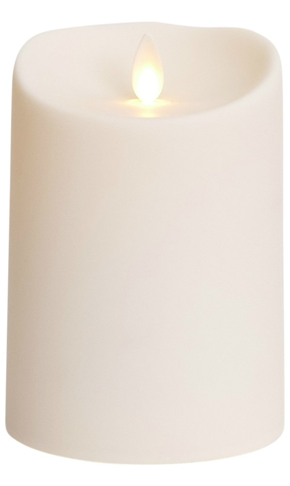 luminara outdoor candles. Luminara Outdoor Flameless Candle: Plastic Finish, Unscented Moving Flame Candle With Timer (5 Candles