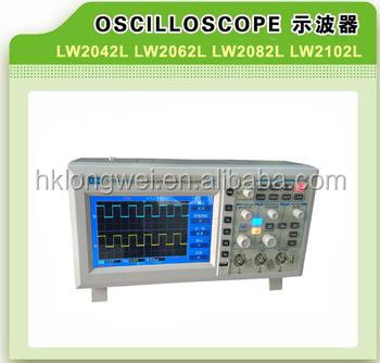 digital storage oscilloscope LW-2102L 7inch 100 MHZ