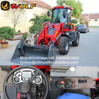 0.8ton Loader With Ce Approved With Front End Loader - Buy