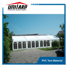 Durable stretch waterproof tent canopy fabric