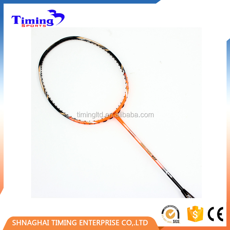 2017 China hot sale wood badminton racket lining