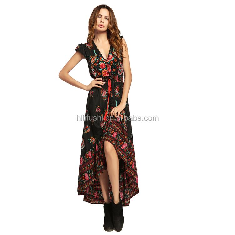 8cd146ae2b388 China flora print dress wholesale 🇨🇳 - Alibaba
