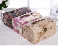 Luxury cardboard suitcase boxes packaging mini suitcases wholesale