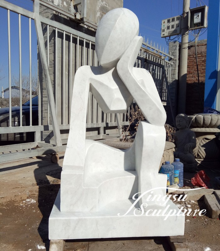 Professional modern abstract stone sculpture with low price