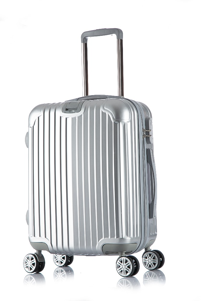 Multifunction Business Silver Color royal polo luggage trolley case