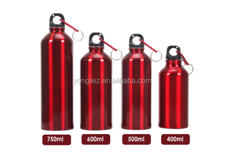 400 ml 500 ml 600 ml 750 ml stainless steel sports water bottle