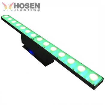 New design 14x5w +84X0.5W indoor led wall washer for night club