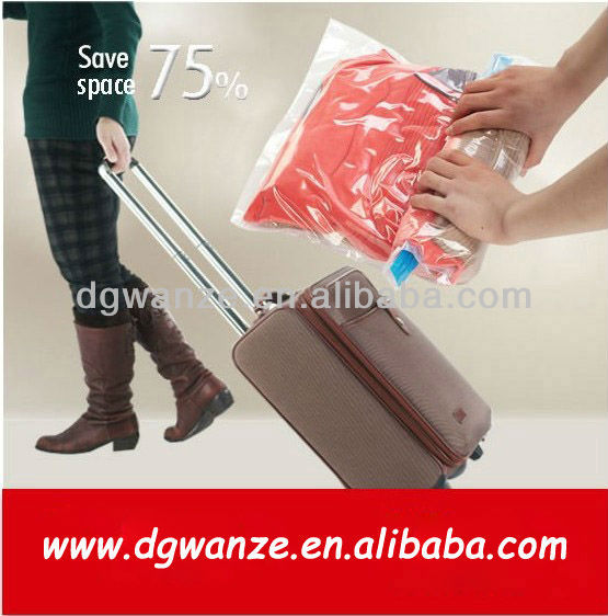 Roll Up Vacuum Travel Storage Bag