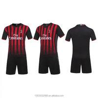 Blank stock wholesale original custom design soccer team football kits set