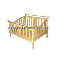 Eco-friendly and safe bamboo baby bed
