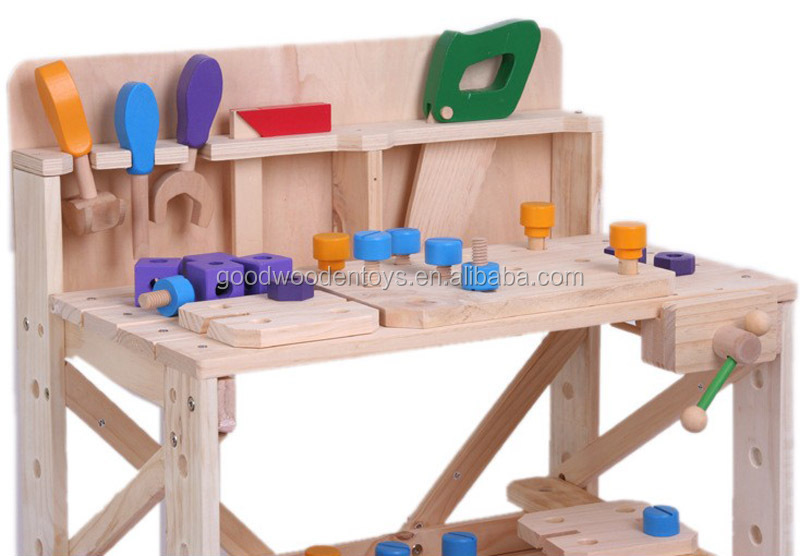 Nuevo dise o para ni os juguetes educativos juguete de for Madera para mesa de trabajo