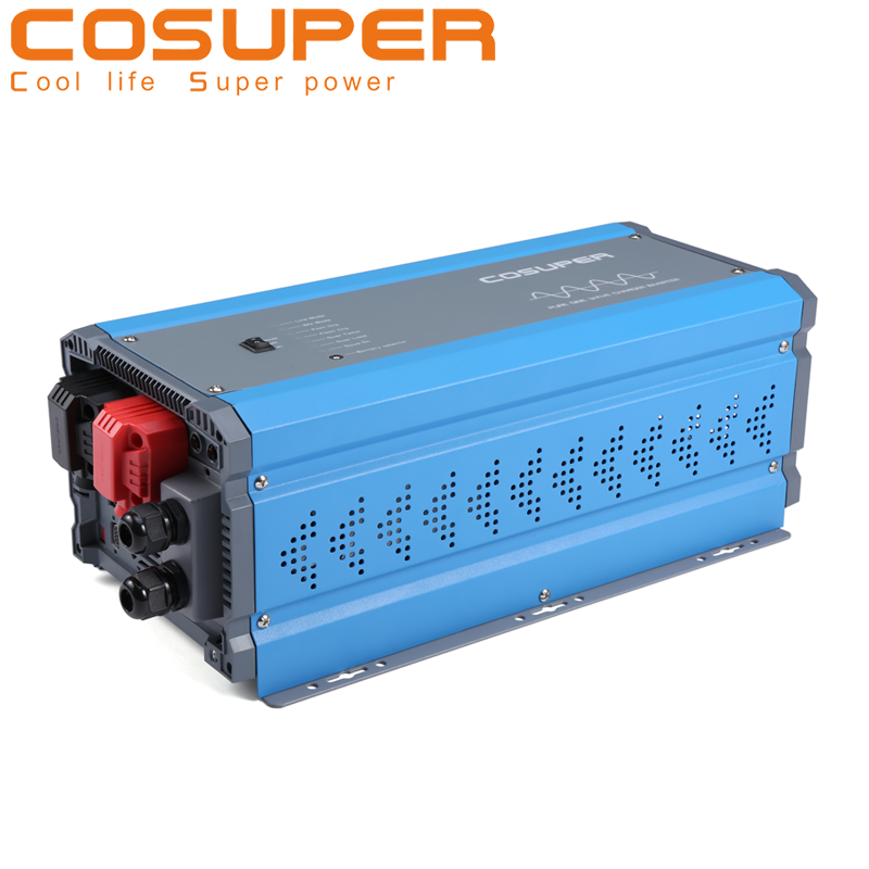 Remote control RJ45/RJ11 panel inverter 3000w 48v 220v pure sine wave inverter