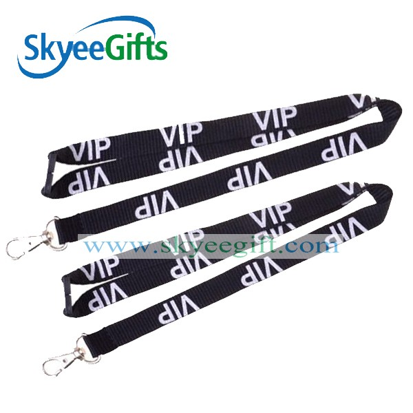 Newest customized souvenir polyester lanyard with customerized logo