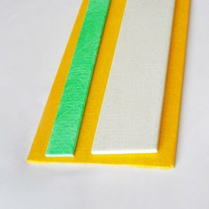 Light weight high tensile solid 40mm 50mm glass fiber fiberglass flat bar strip for carbon bow making