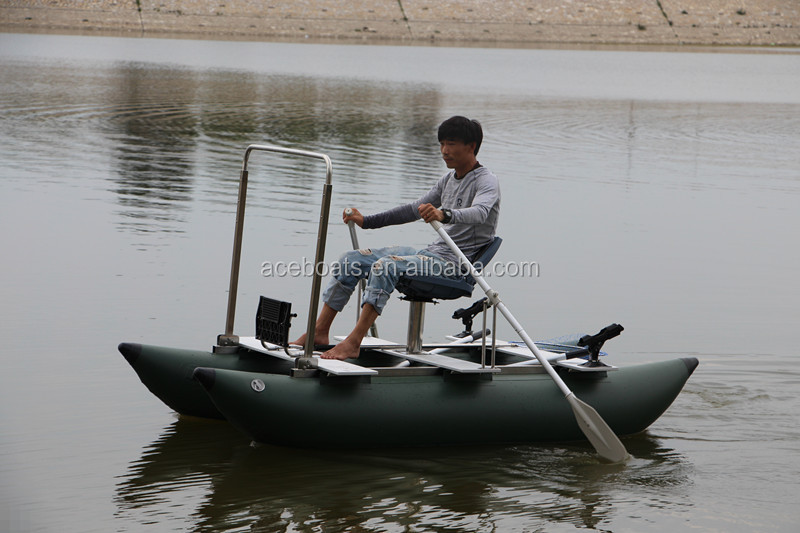 One person inflatable pontoon fishing boats buy one for 4 person fishing boat