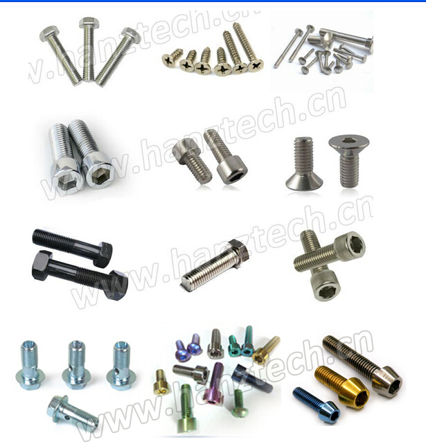 Gr5 wheel stud Titanium Bolt/ Screw