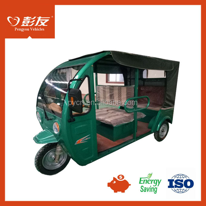 Battery Power Electric Tricycle, Passenger Taxi Use